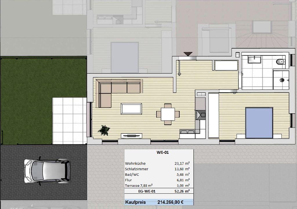 Der pure Wohntraum in Viersen lichtdurchflutete Eigentumswohnungen (WE-01)